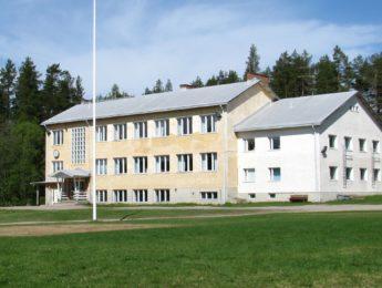 Tavastkengän koulu, kuvannut Matti Leiviskä