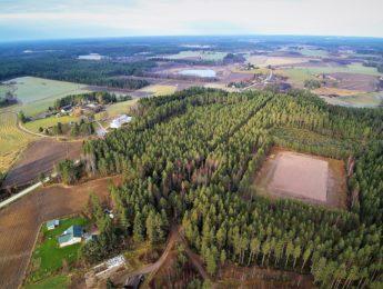 Ilmakuva Tavastkenkä Heiskalanperä, kuvannut Jari Kurkela