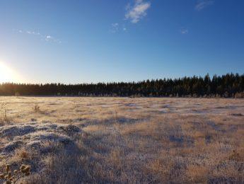 Talvinen Vorninnenva, kuvannut Matti Leiviskä